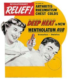 Mentholatum Canada Deep Heat Ad