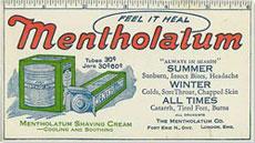 Mentholatum Canada Vintage Ad